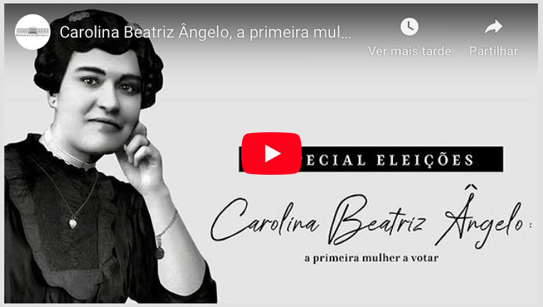 Locução Carolina Beatriz Ângelo