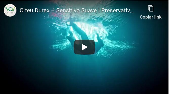 Locução Durex Sensitivo